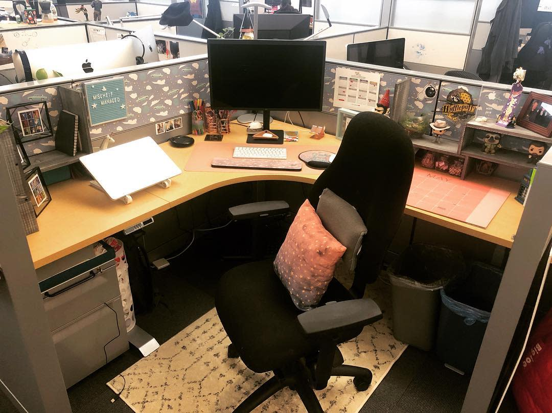 Cubicle Small Office Ideas -whitneyrhiannon