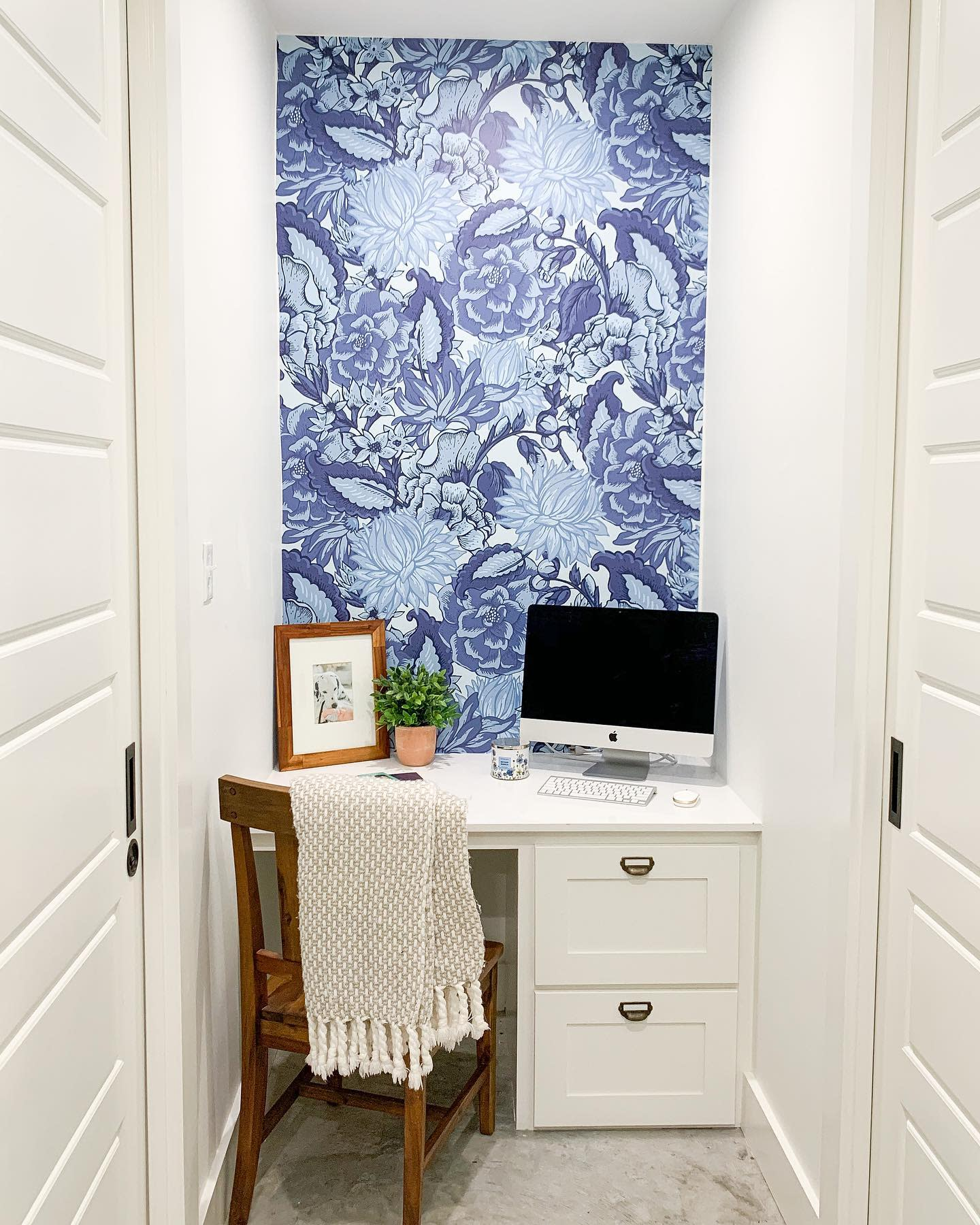 DIY Small Office Ideas -doxey_days