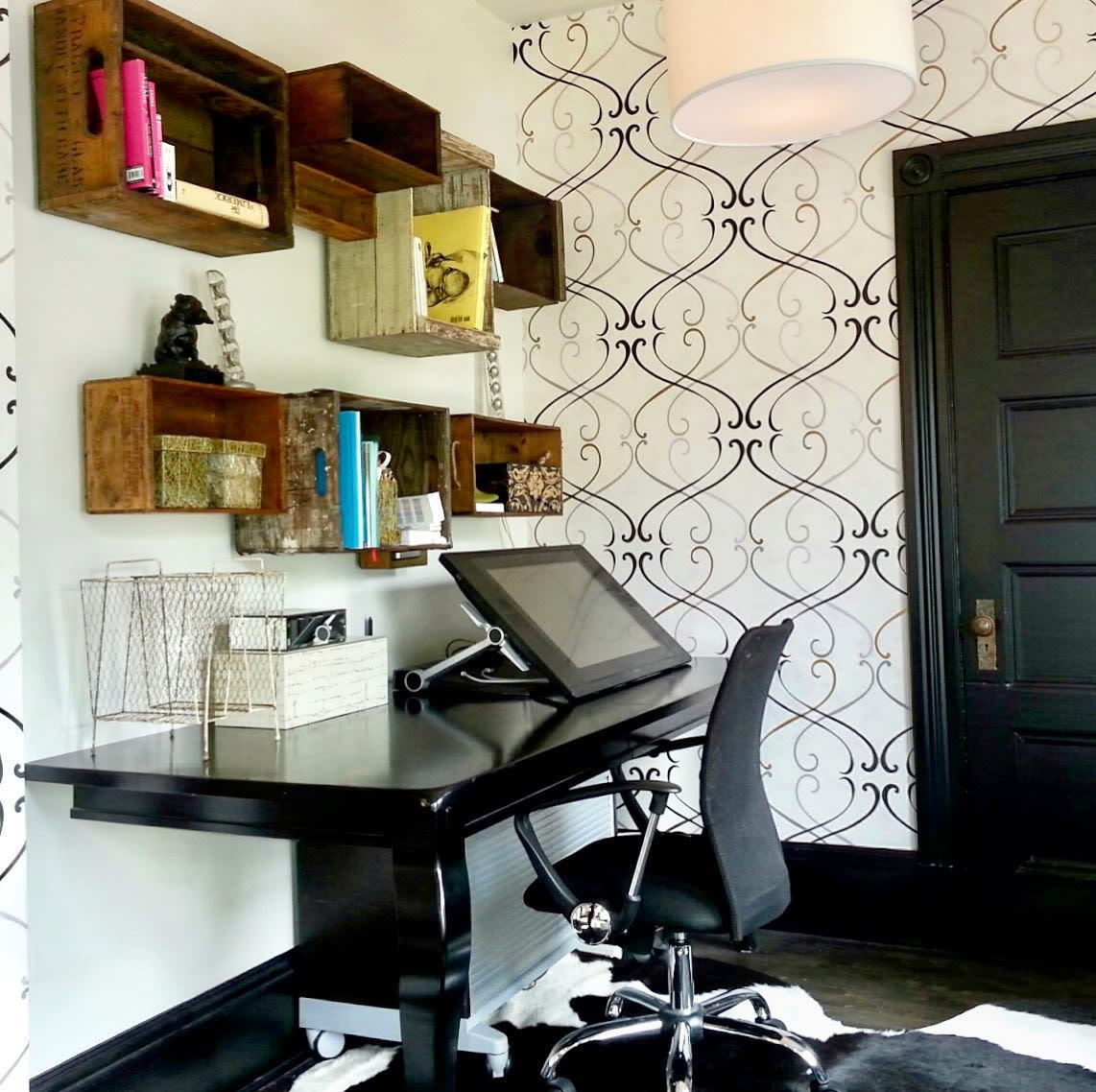 DIY Small Office Ideas -shannonquimby