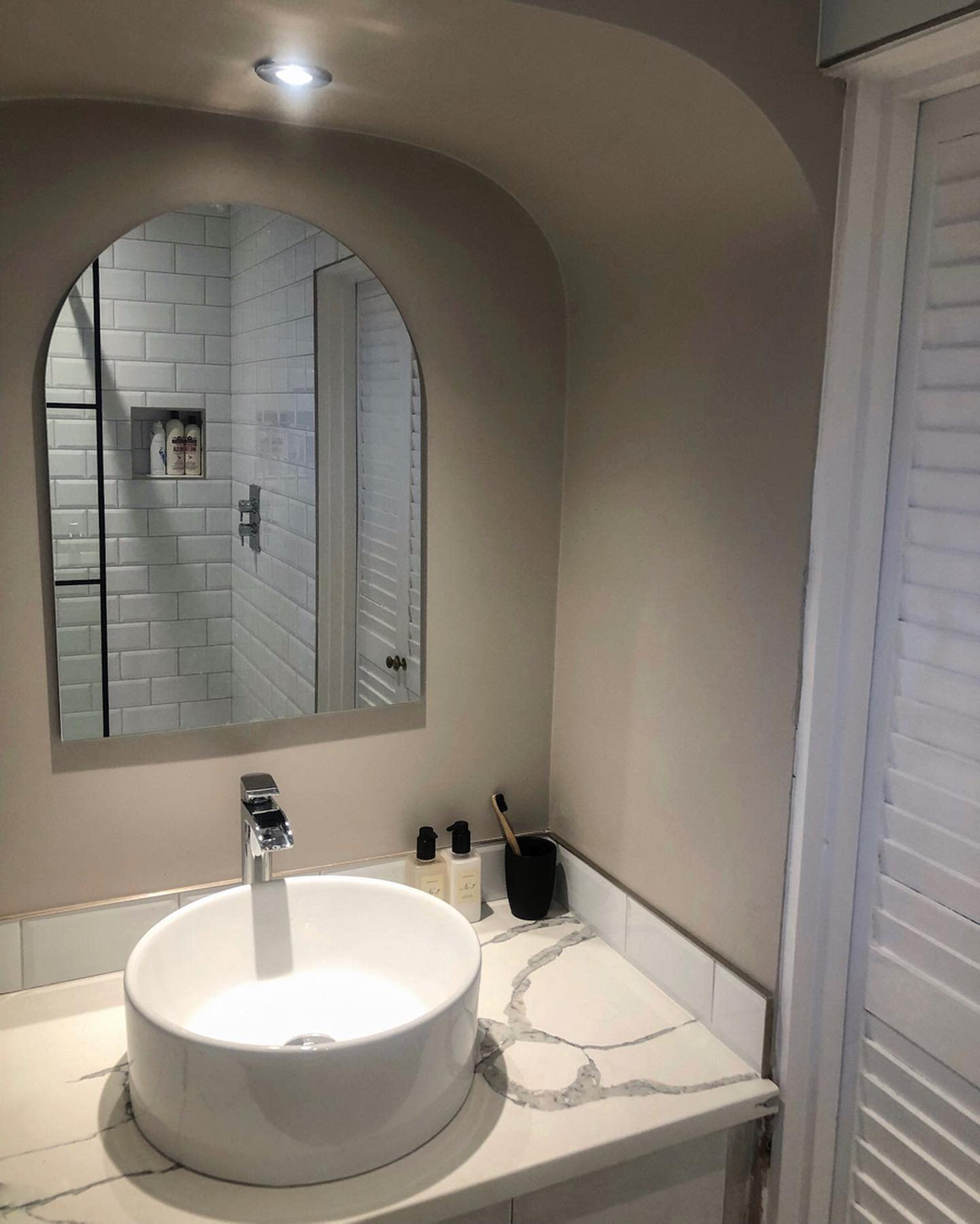 Round Bathroom Sink Ideas -house.by.the.woods