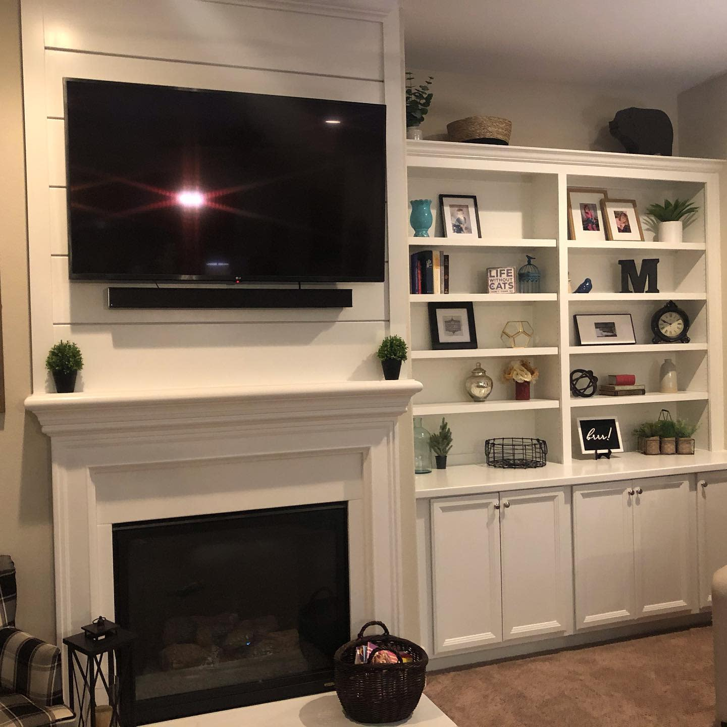 Fireplace Wall Ideas With TV -generationscustomcabinetry