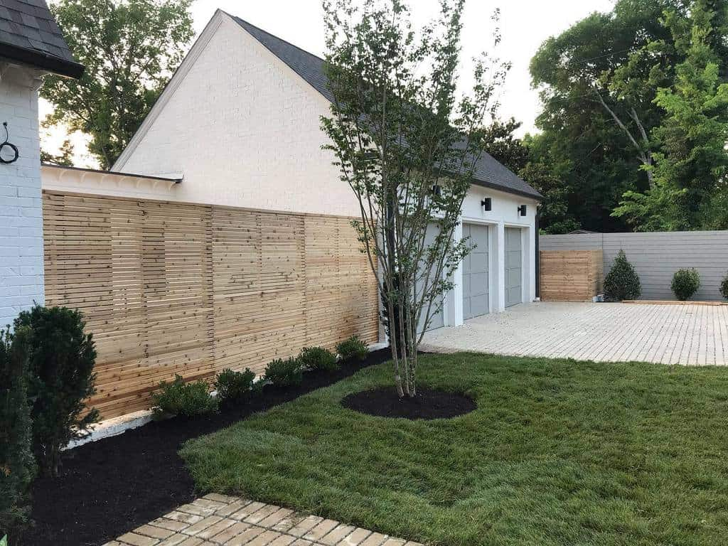 The Top 30 Horizontal Fence Ideas