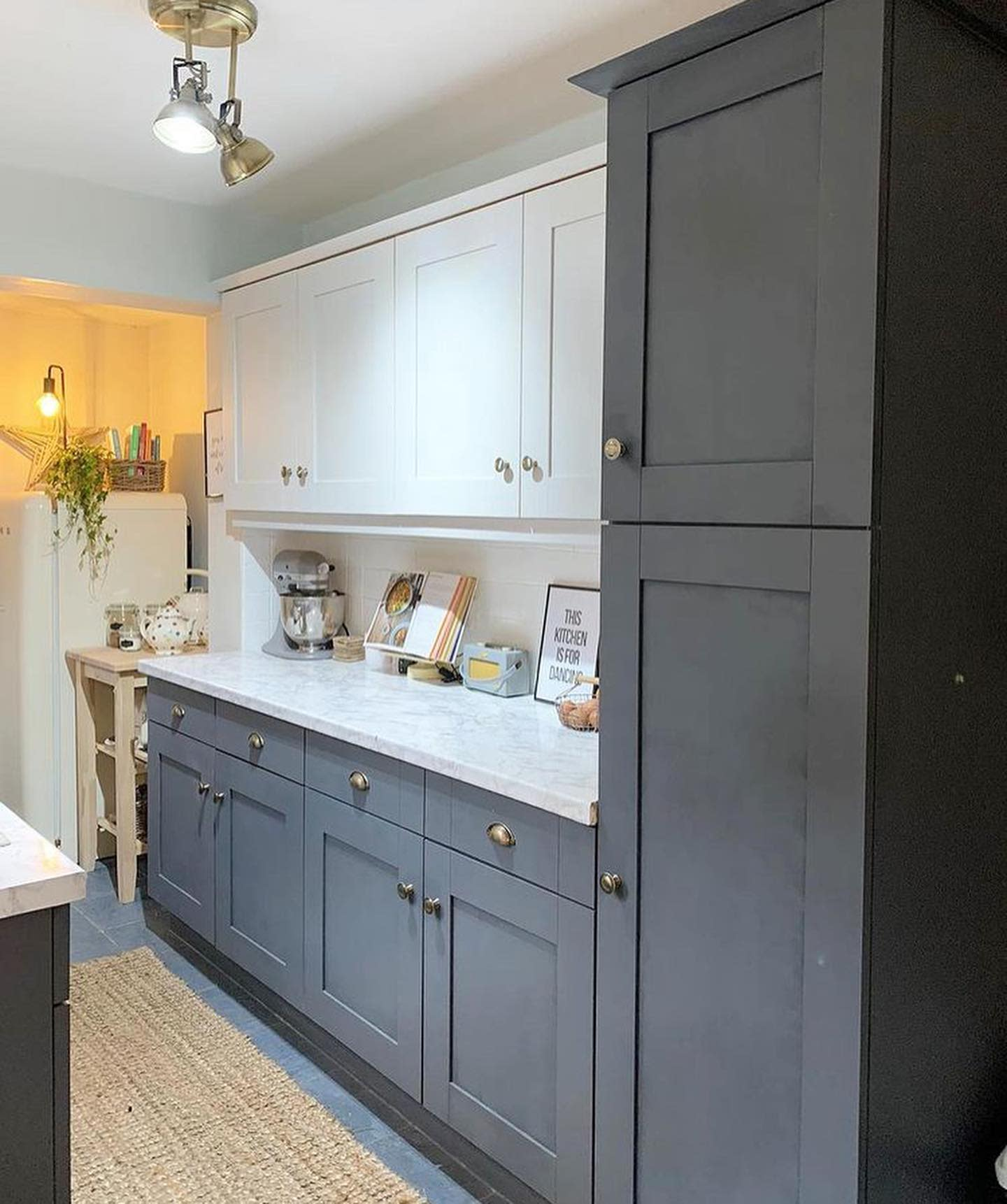 Galley Kitchen Cabinet Ideas -peony.cottage