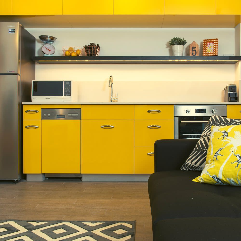 Painted Kitchen Cabinet Ideas -tlv2go_apartments