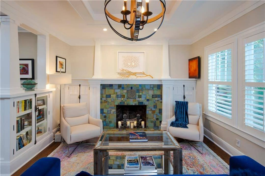 Fireplace Modern Living Room Ideas -therushcollection