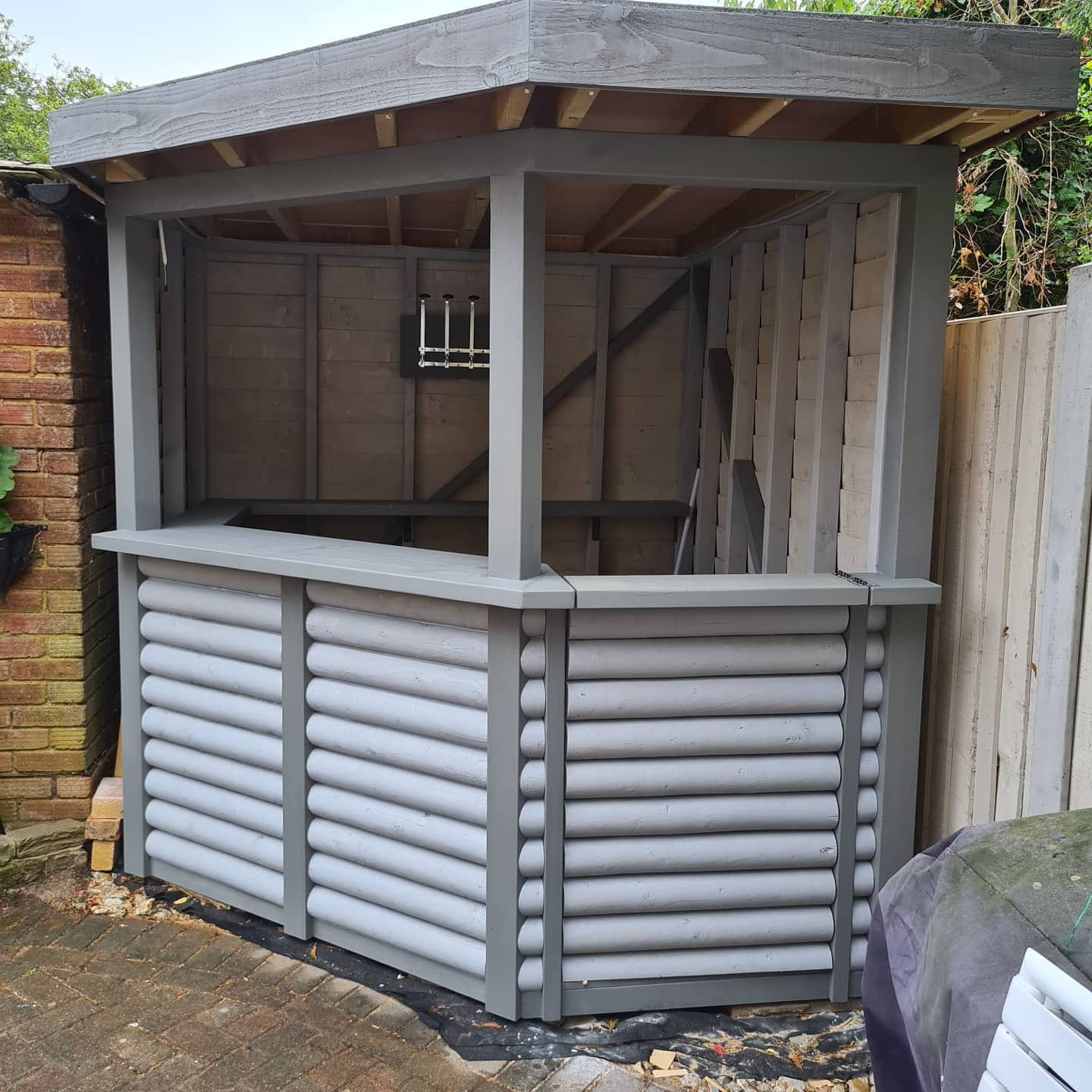 Shed Outdoor Bar Ideas -lpcarpentryservices