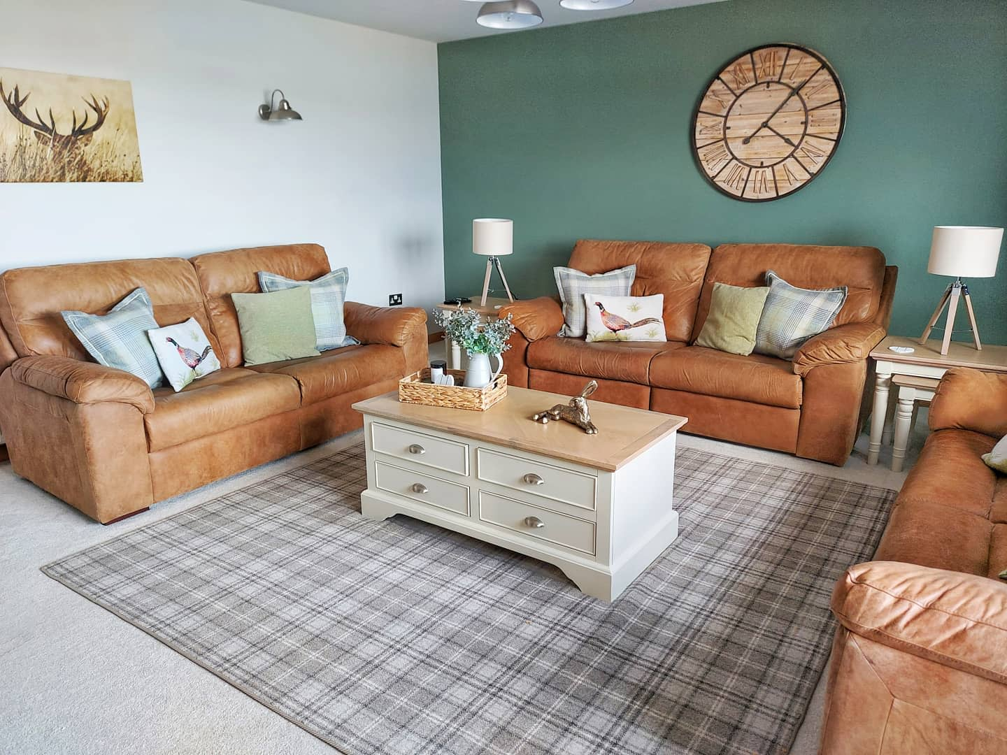 Country Rustic Living Room Ideas -our_islandhome