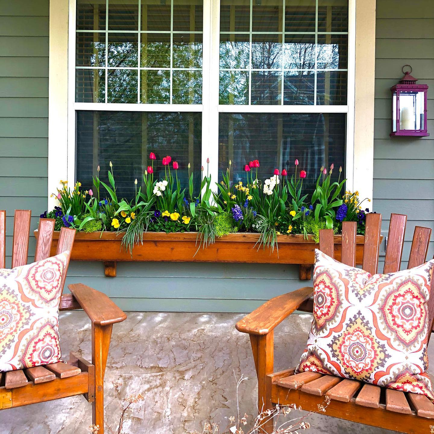 Rustic Window Box Ideas -divine_containers