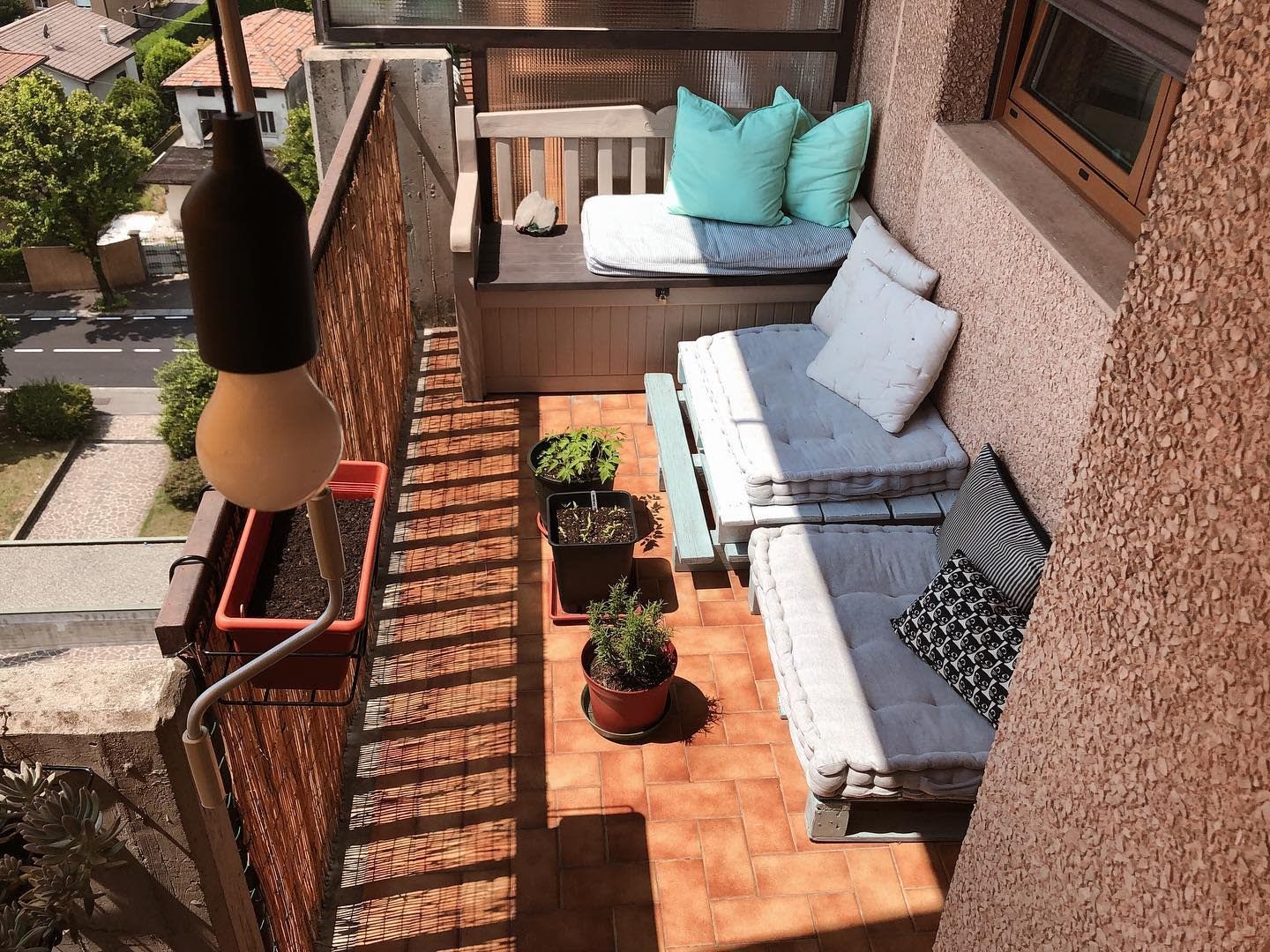 Balcony Apartment Patio Ideas -oursweeethome