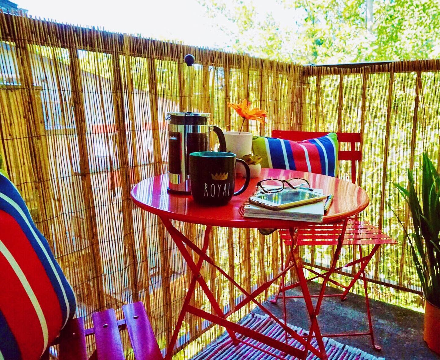 Privacy Apartment Patio Ideas -emmak_homestyling