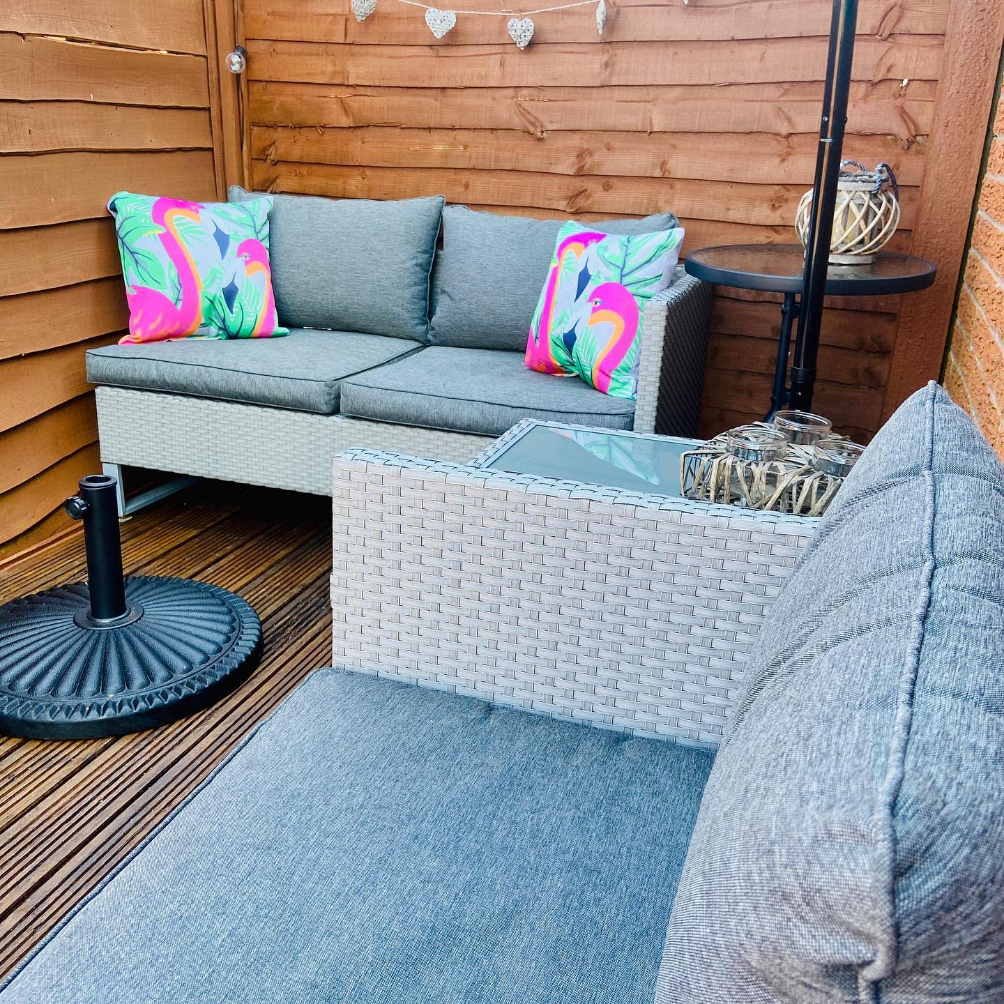 Privacy Apartment Patio Ideas -our_cosylittlehouse