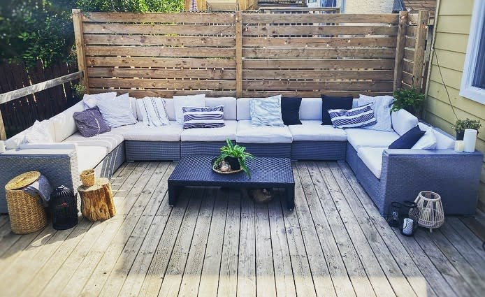 Privacy Apartment Patio Ideas -theresebullen