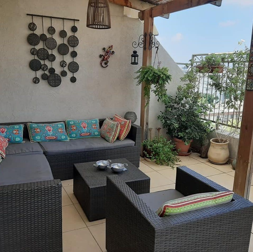 Rooftop Apartment Patio Ideas -israel_property_network