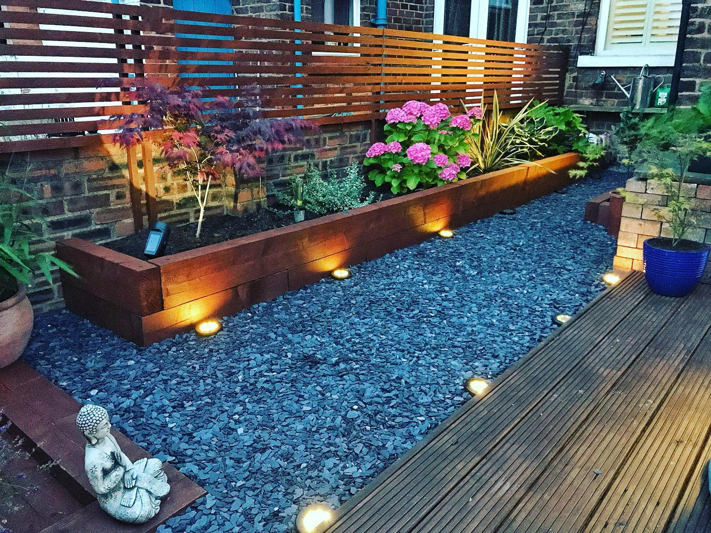 Gardening Backyard Landscaping Ideas on a Budget -sampearsongardenprojects