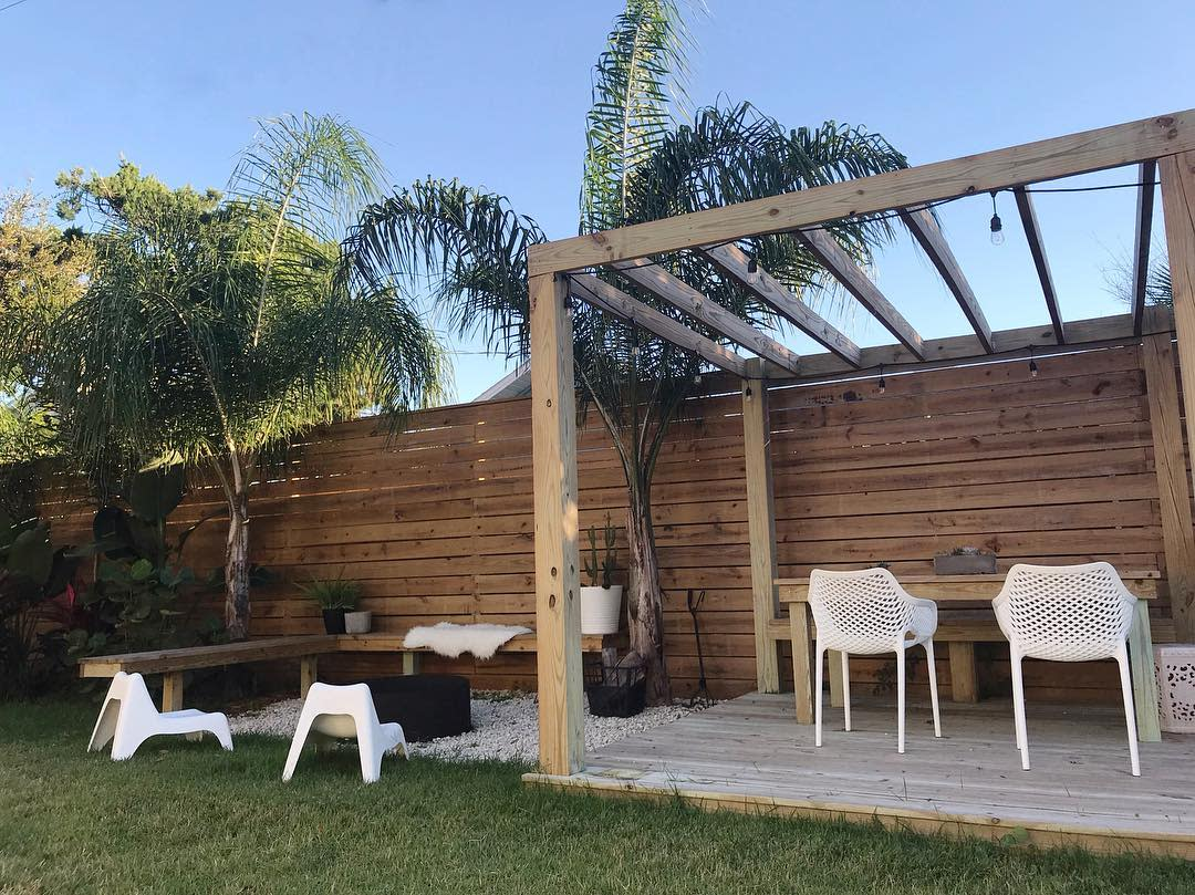Patio Backyard Landscaping Ideas on a Budget -staugustine.homes
