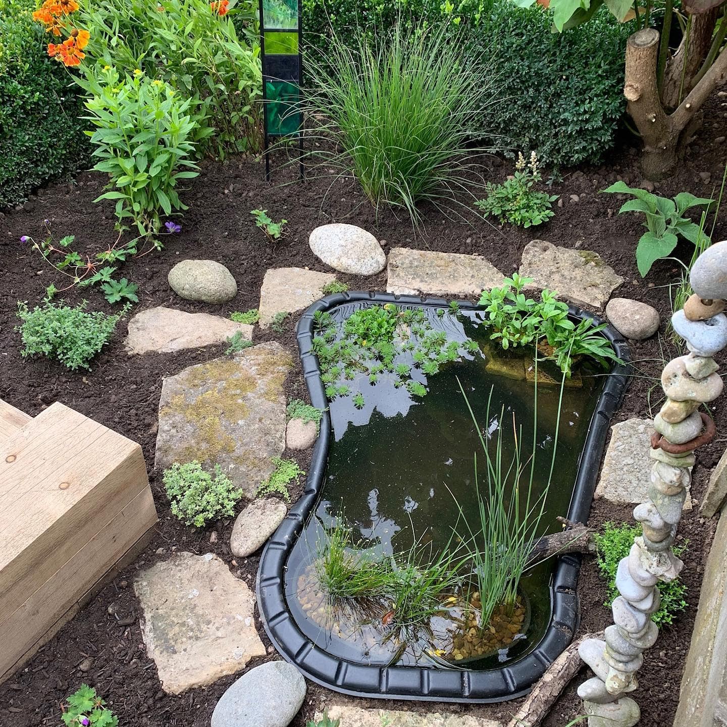 Small Backyard Landscaping Ideas on a Budget -anneguygardendesigns