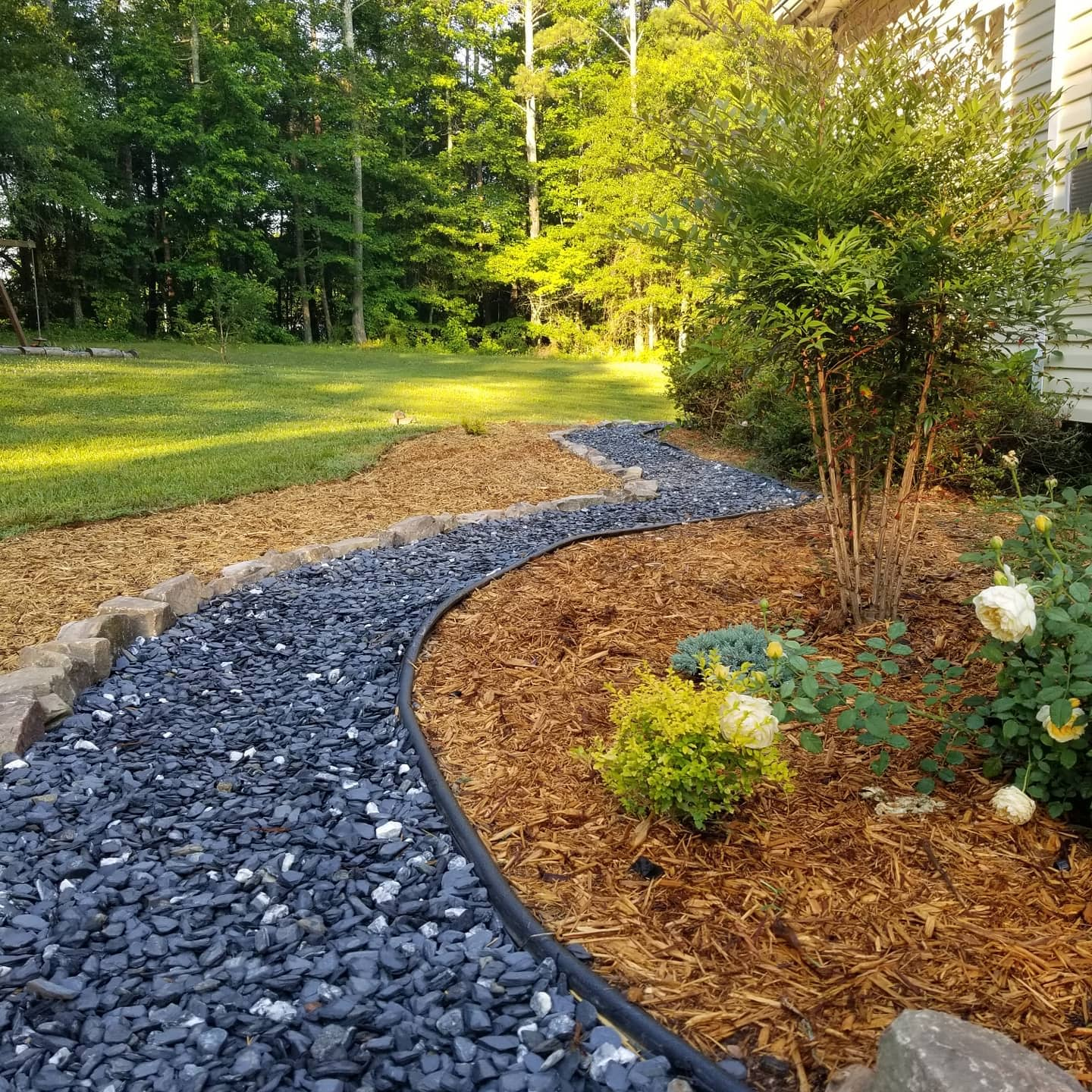 Walkway Backyard Landscaping Ideas on a Budget -lets.grow.for.it