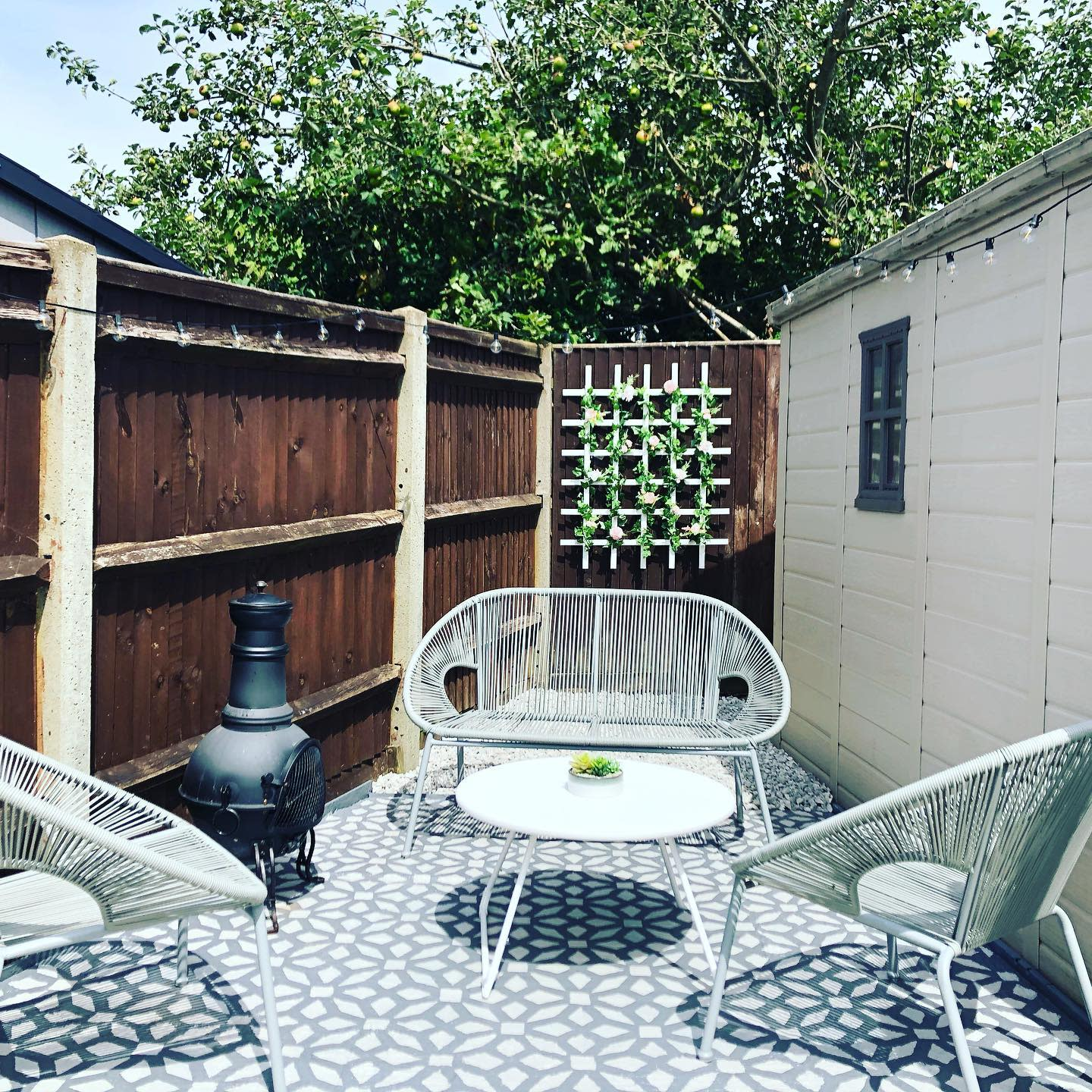 Fence Backyard Privacy Ideas -simplewithahintofsparkle