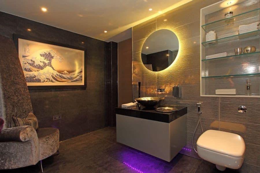 The Top 45 Bathroom Lighting Ideas