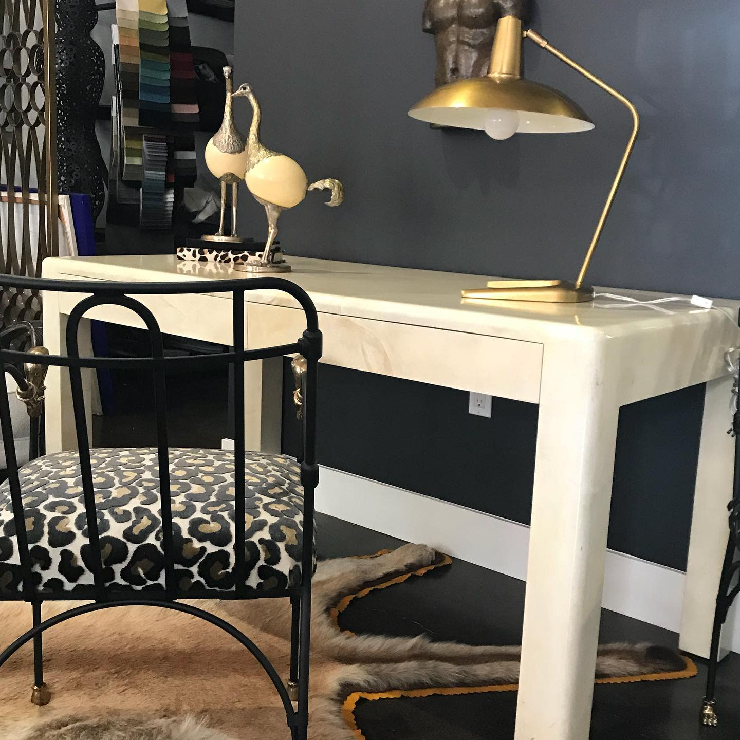 Chic Home Office Desk Ideas -onmadison