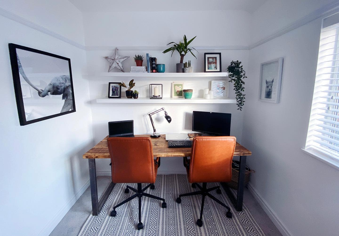 Double Home Office Desk Ideas -ourcheshiresemi