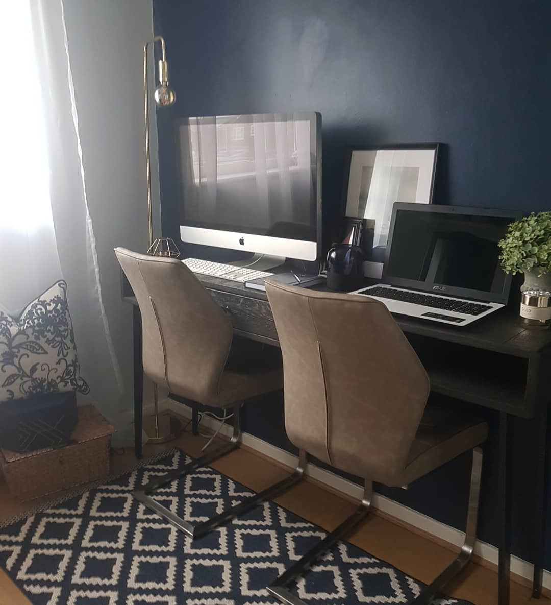 Double Home Office Desk Ideas -ourjarvishome