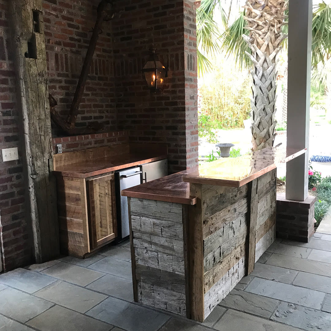 Rustic Outdoor Kitchen Ideas -themonceretway