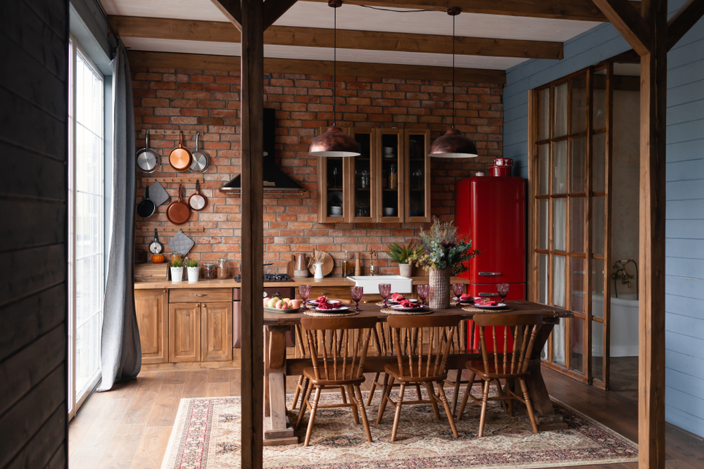 Country Rustic Kitchen Ideas 1