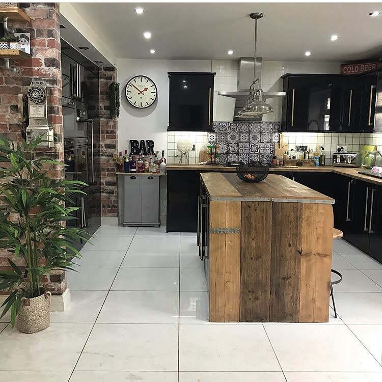 Industrial Rustic Kitchen Ideas -loves_leeds_homes