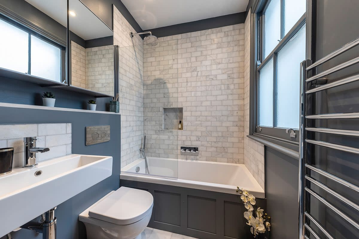 Contemporary Small Bathroom Ideas -mywifethedesigner