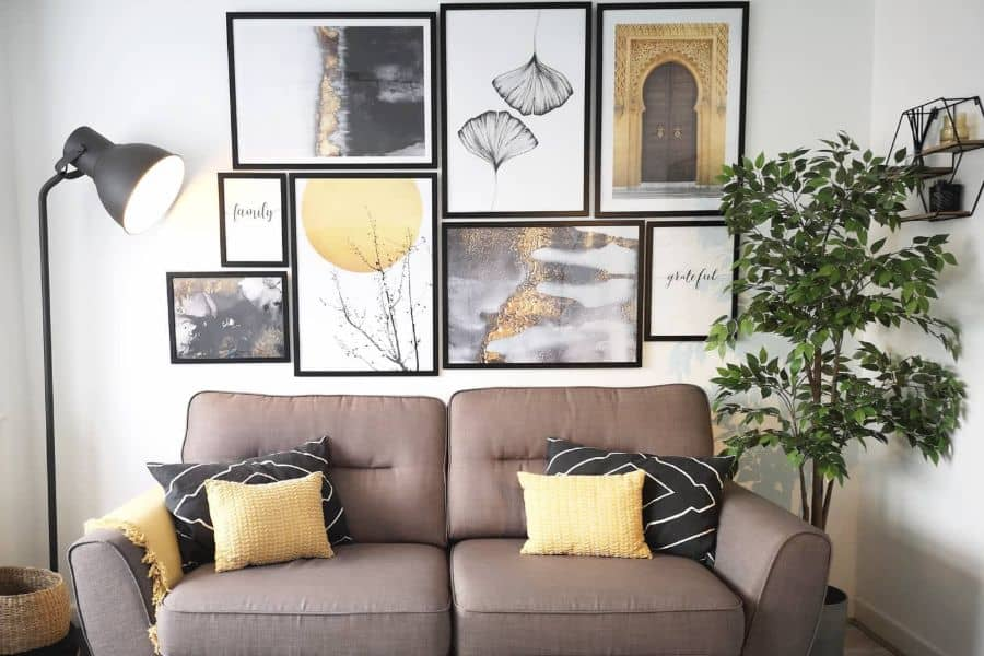 The Top 60 Wall Collage Ideas
