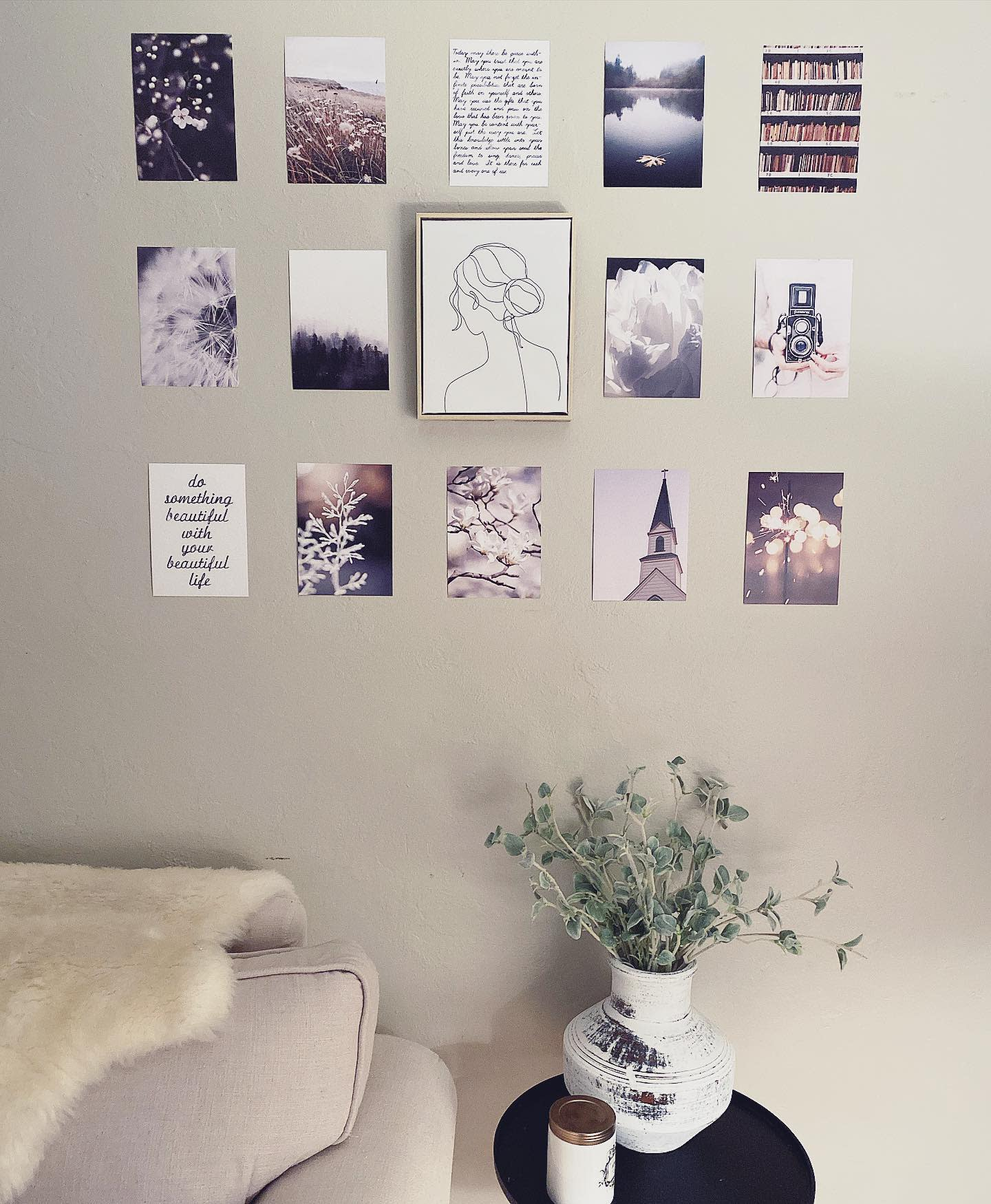 Art Wall Collage Ideas -wildflowers.n.wishes