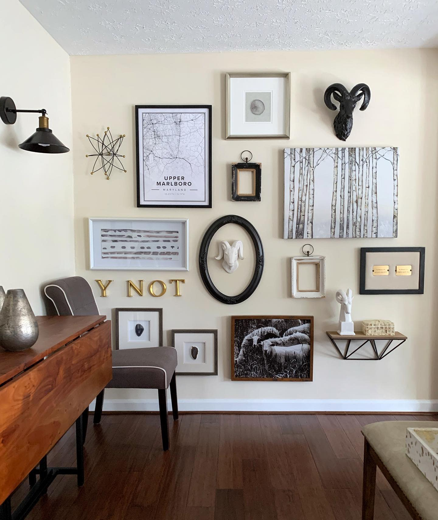 Decor Wall Collage Ideas -itsmorethanahome