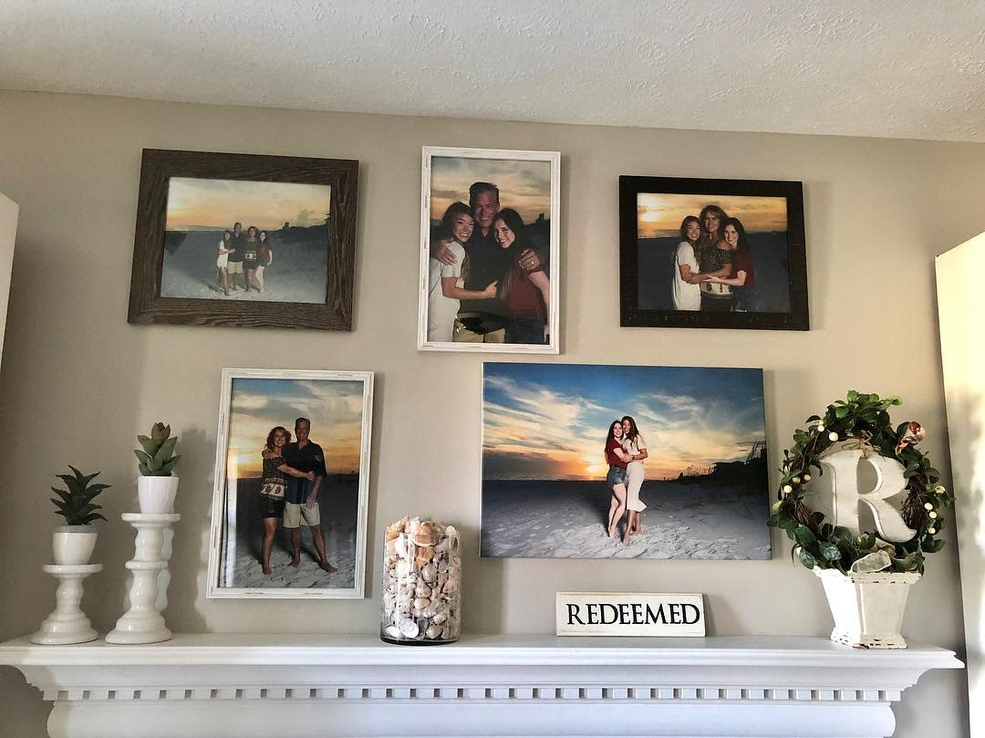 Family Wall Collage Ideas -lisarubelphotography