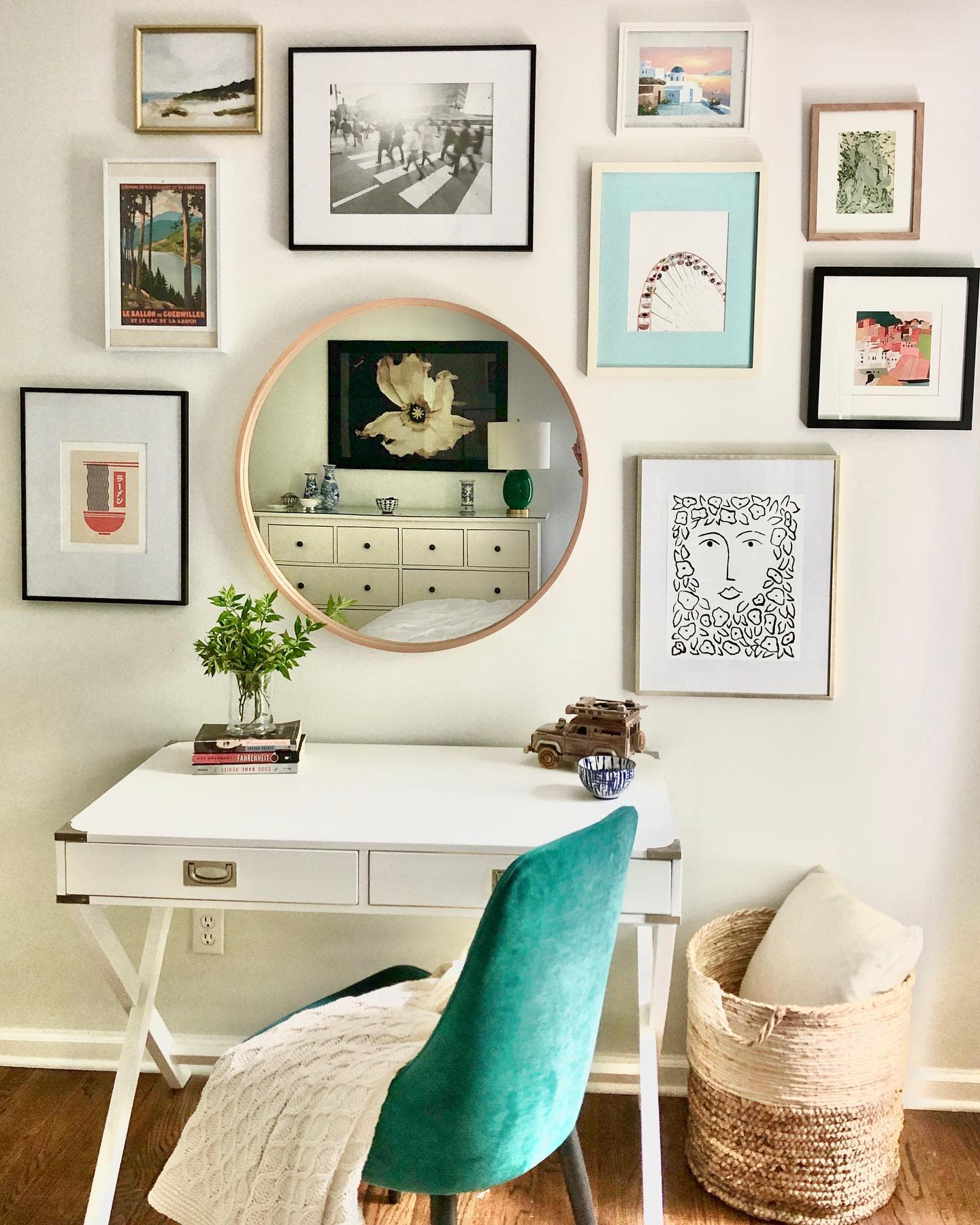 Frame Wall Collage Ideas -fridayandcodesign