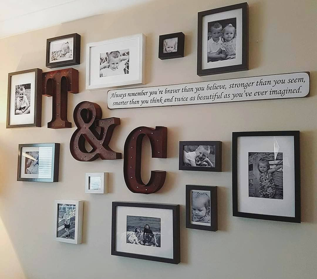 Frame Wall Collage Ideas -our_little_council_house
