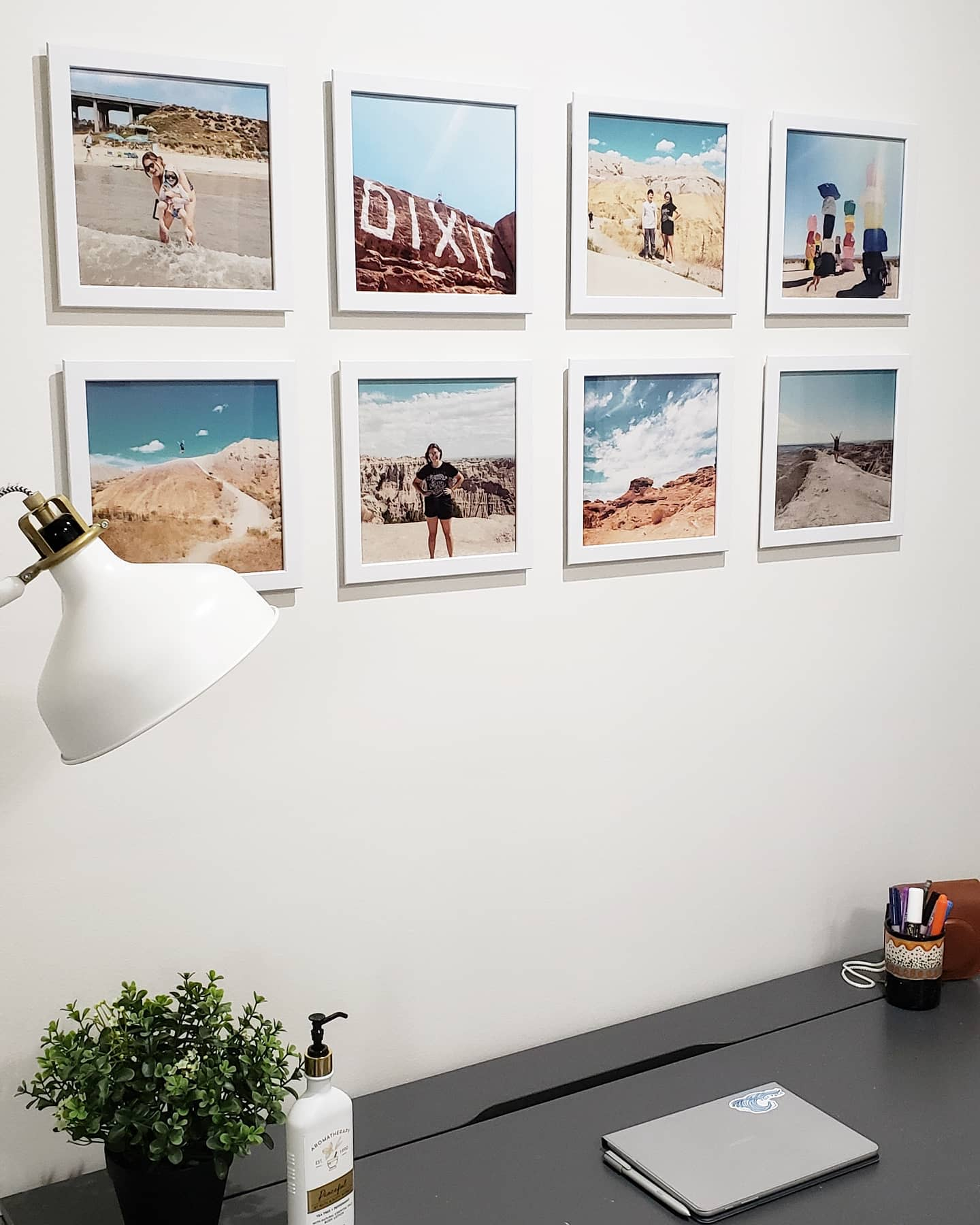 Frame Wall Collage Ideas -ourbrasshouse