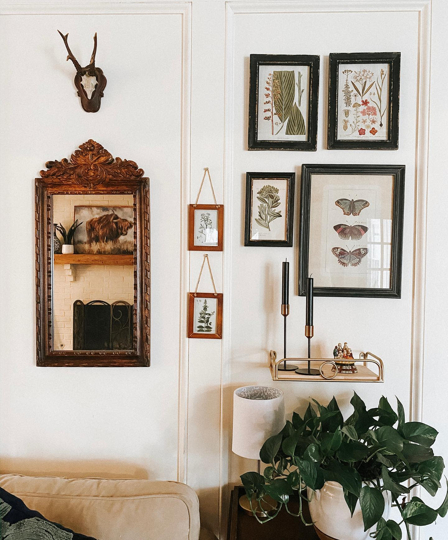 Frame Wall Collage Ideas -theruefergroup