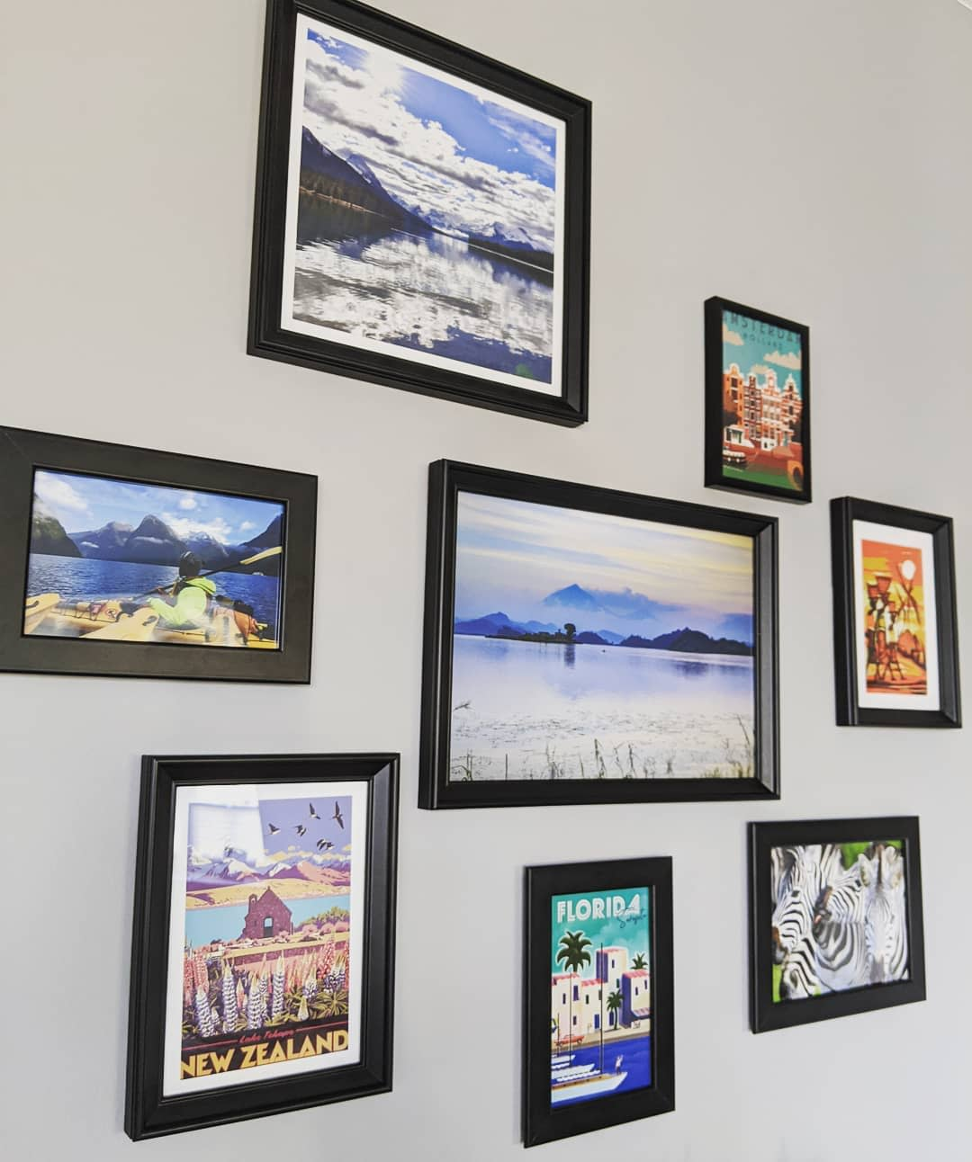 Frame Wall Collage Ideas -victoria.and.benji