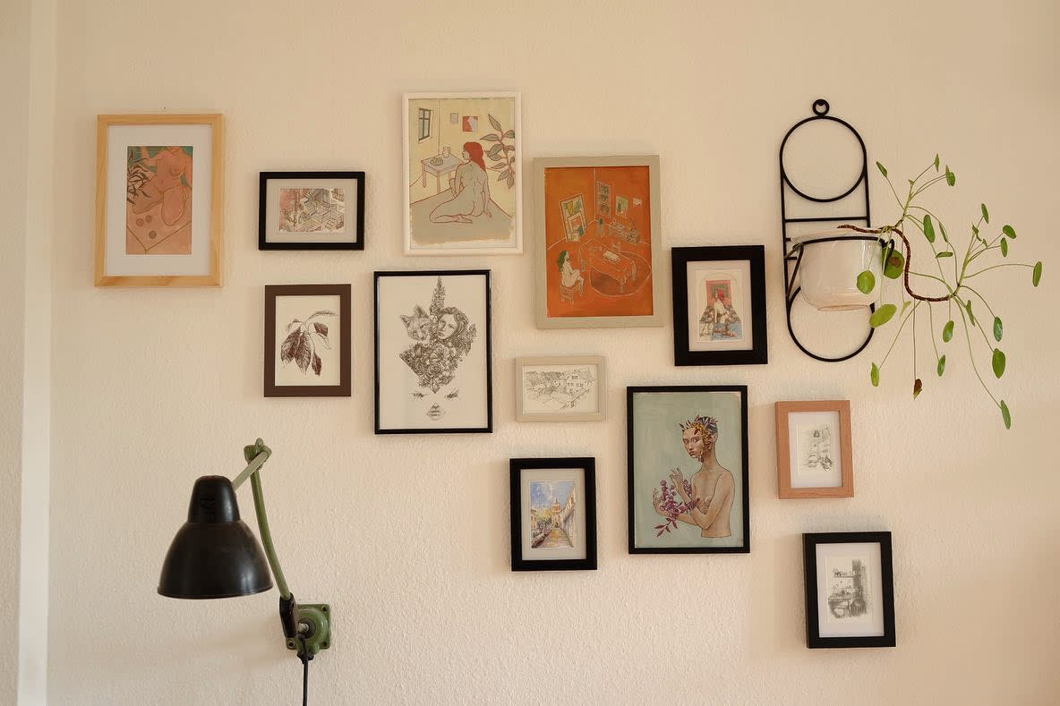 Gallery Wall Collage Ideas -popini