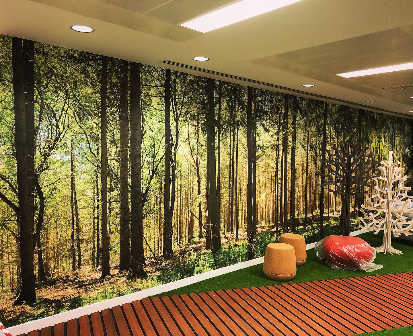 Graphic Wall Paint Ideas -projex_uk