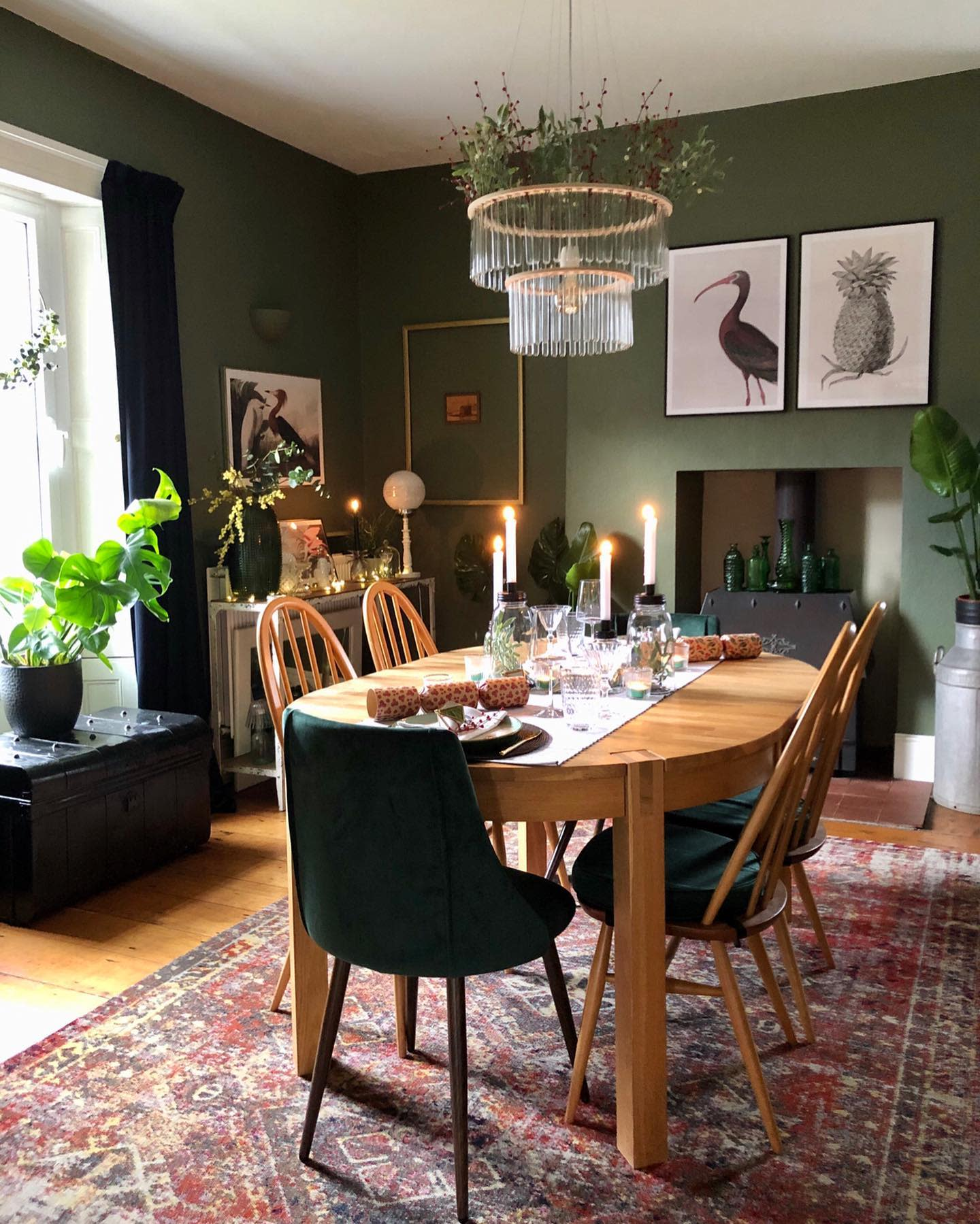 Green Wall Paint Ideas -a_story_of_home