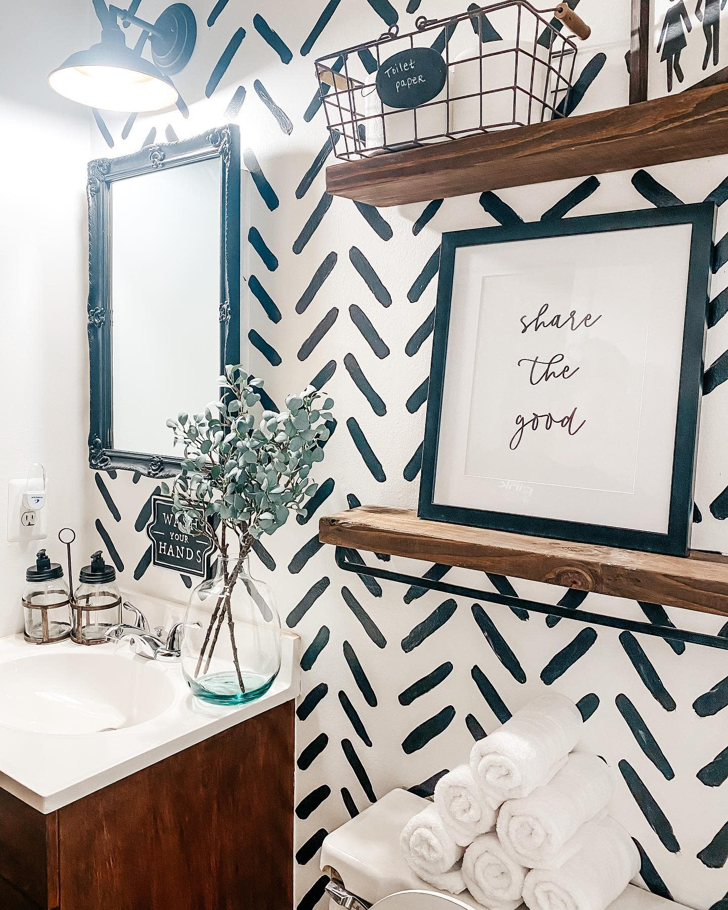 Pattern Wall Paint Ideas -fortheluvofhome